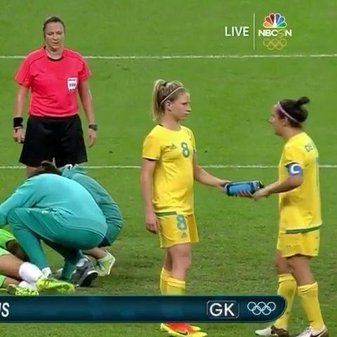 Ah şu kadın futbolcular