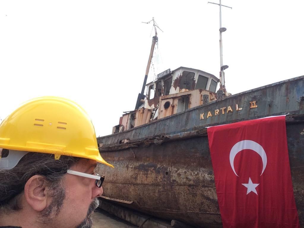 """İşte Atatürk'ün """"Geldikleri gibi giderler"""" sözünü söylediği """"Kartal"""" teknesi"""